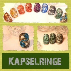Kapsel-Fingerringe