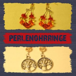 Perlenohrringe